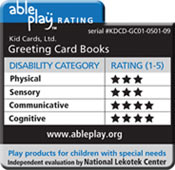 Able Play Rating for KidCards