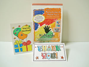 KidCards Greeting Cards Volume 4 Party Invites and Thank You's