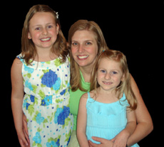 Photo of Melissa Marra and her children