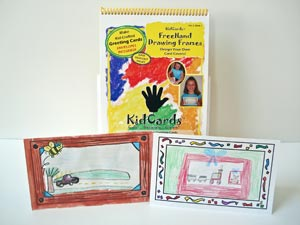 KidCards Greeting Card Books Volume 1 with Cards